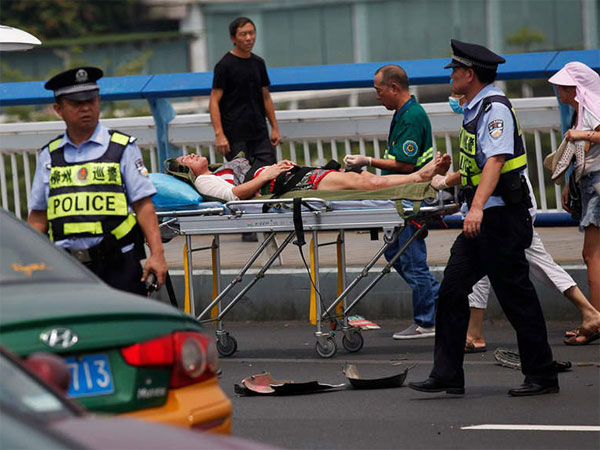 China: 9 killed as man goes on stabbing spree after ramming car into crowd