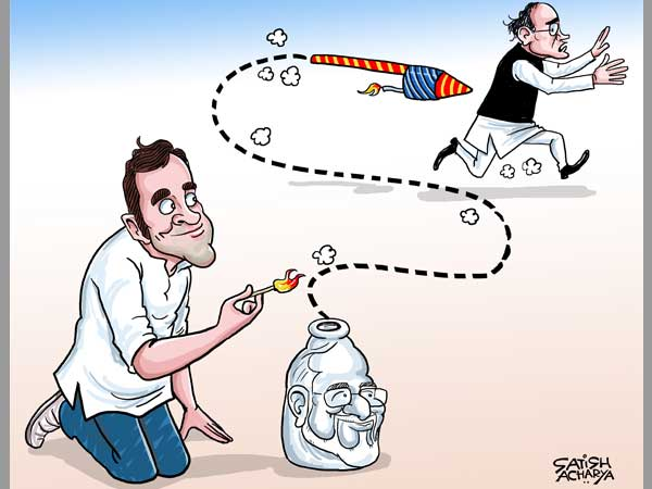 Rahuls Kingfisher rocket attack on Jaitley