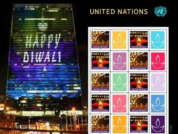 Special Diwali stamp to be issued by UN postal agency