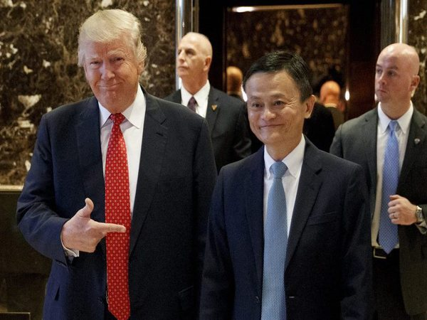 Jack Ma With Donald Trump