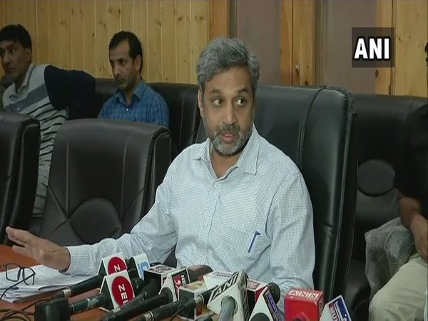 Chief Electoral Officer Shaleen Kabra (Image courtesy - ANI/Twitter)