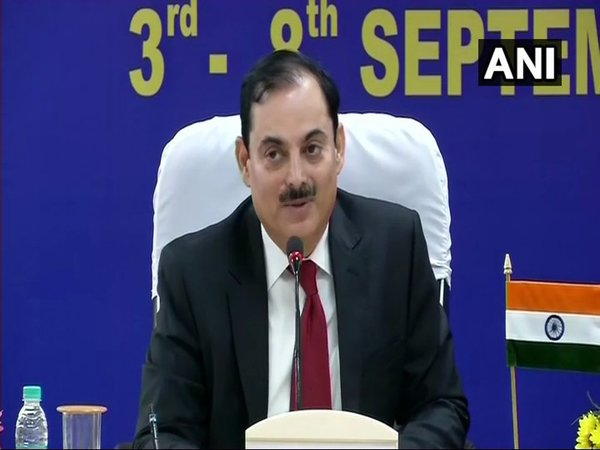 BSF Director General (DG) K K Sharma (Image courtesy - ANI/Twitter)