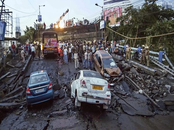 Majerhat bridge in south Kolkata collapsed on Sep 4