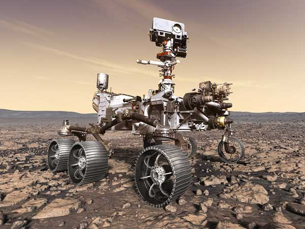 Mars 2020 rover mission: