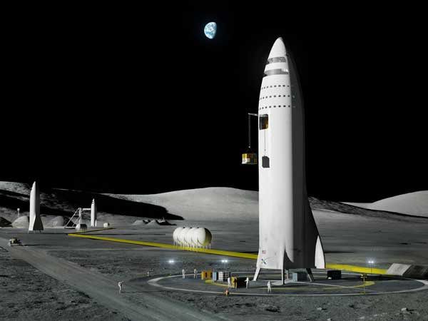 Musk names Japan billionaire for around-the-moon space trip