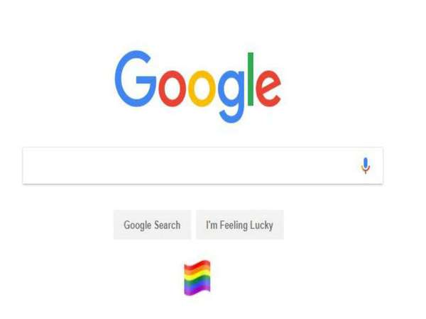Google India puts out a rainbow flag