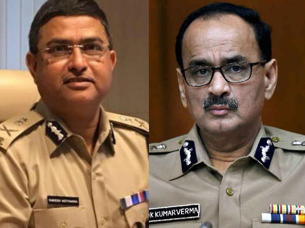 File photo of Rakesh Asthana and Alok Verma