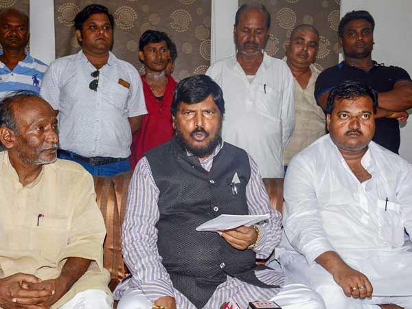 NDA leaders like Paswan and Athawale demand reservation for upper caste