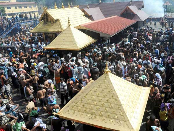 <strong>SC throws open doors of Sabarimala Temple to women]</strong>