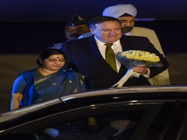 US Secretary of State Pompeo arrives in India for 2+2 talks