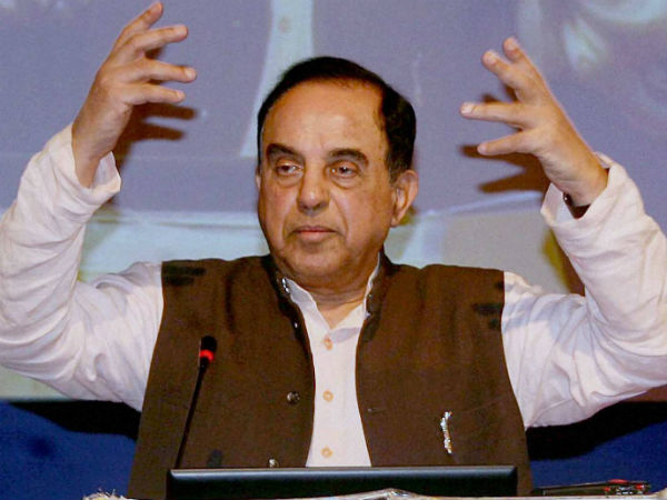 Unhappy with today's judgment, says Subramanian Swamy