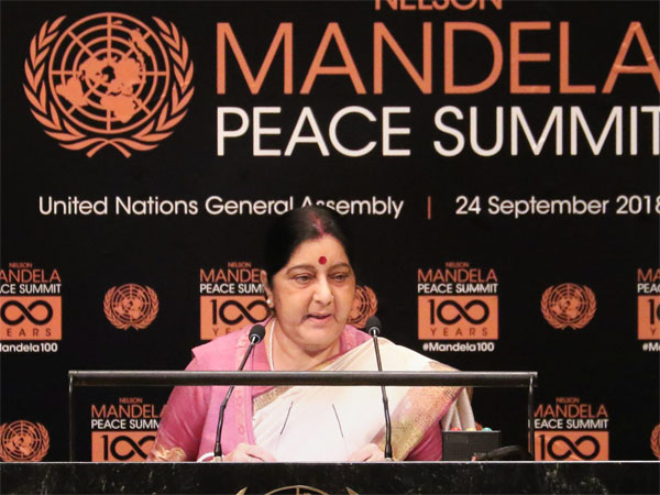 Swaraj to have over half a dozen bilateral engagements at UNGA including one with Nepal