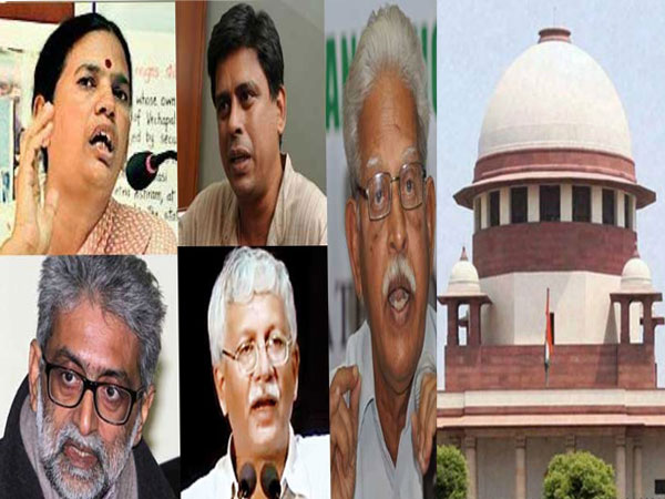 SC junks plea of activists sympathetic to naxals, says probe agency not their choice