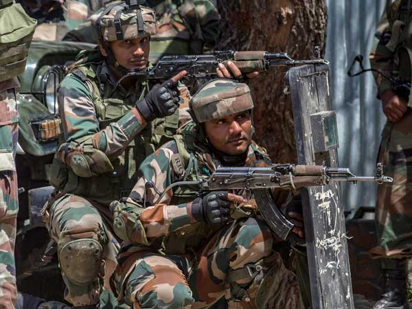 J&K: Terrorists hurl grenade, fire at security forces