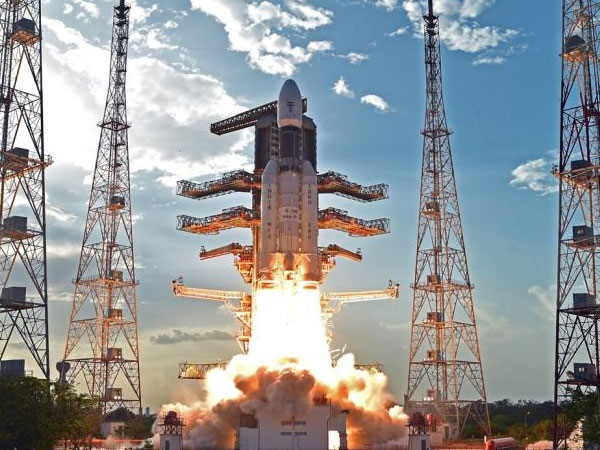 File photo of a GSLV launch