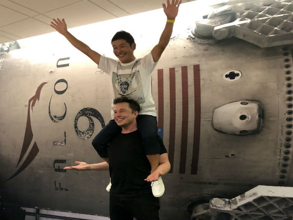 Japanese billionaire Yusaku Maezawa is SpaceX's Moon tourist
