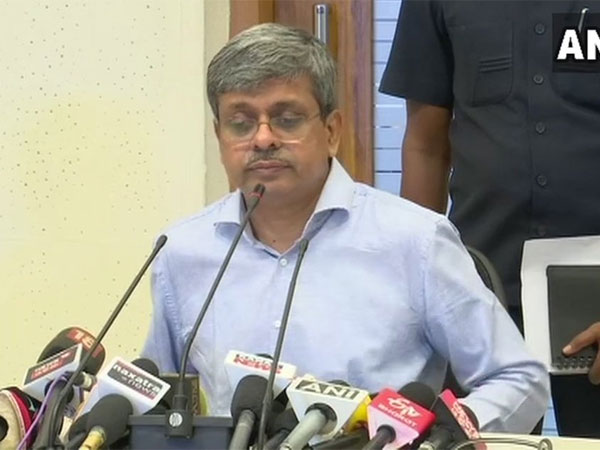 Aditya Prasad Padhi, Chief Secretary, Odisha. Courtesy: ANI news