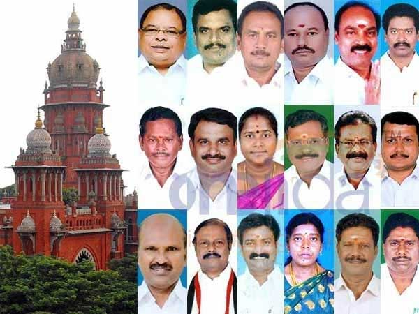 AIADMK MLAs case: Disqualification upheld on well settled SC verdict