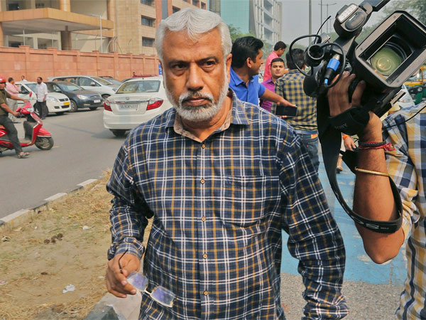 CBI Deputy SP A K Bassi outside CBI headquaters, in New Delhi