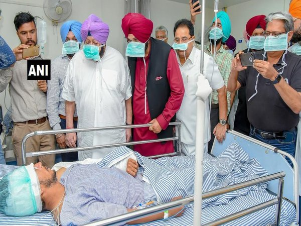 Amritsar tragedy: Amarinder visits injured, orders immediate release of Rs. 3 Cr