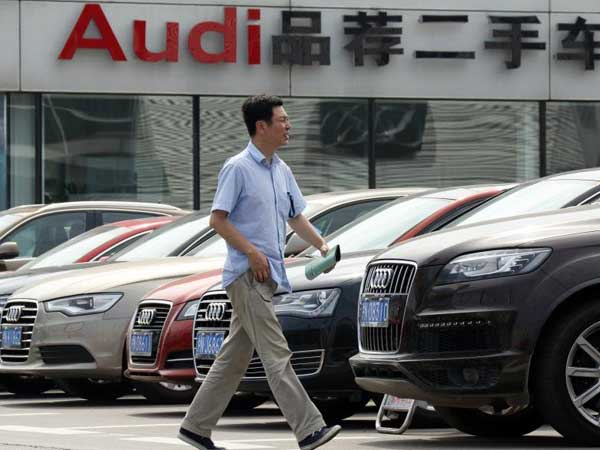 Audi sales in China reach record high