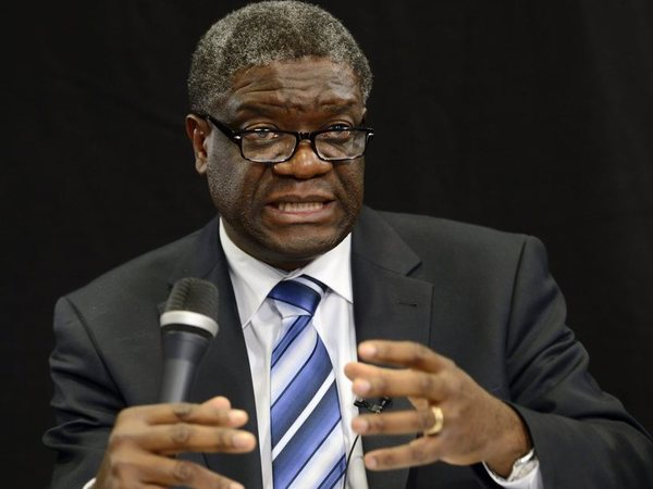 Denis Mukwege, 2018 Nobel Peace Prize winner. PTI photo