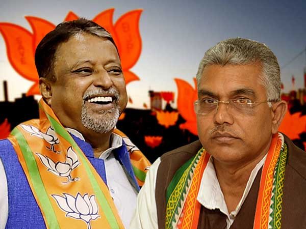 Bengal BJP: Is gap widening between Mukul Roy and Dilip Ghosh?