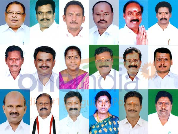 Who are these 18 disqualified AIADMK MLAs?