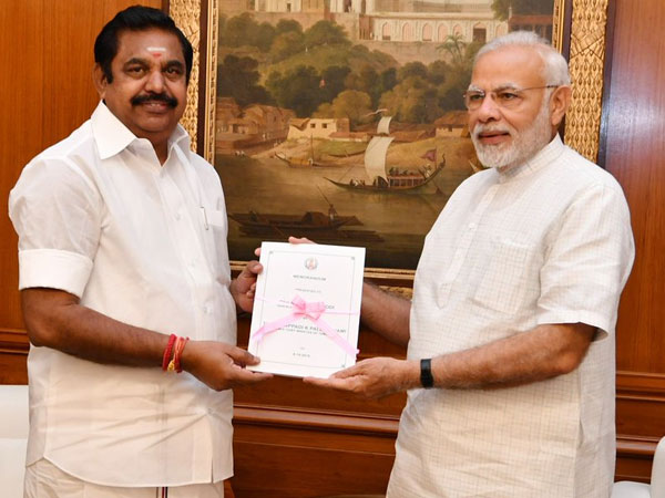 Tamil Nadu CM Palanisamy meets PM Modi, says decision on alliance after  announcement of polls dates - Oneindia News