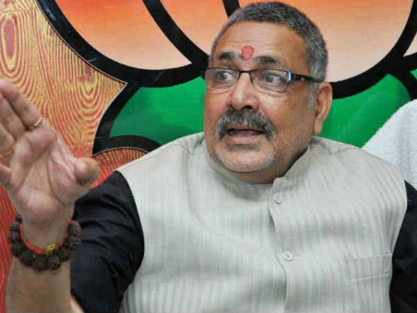 Giriraj Singh sulks after Nawada LS seat goes to NDA ally LJP