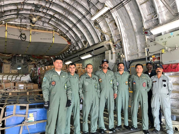 IAF embarks on relief mission to Indonesia. Courtesy: @IAF_MCC