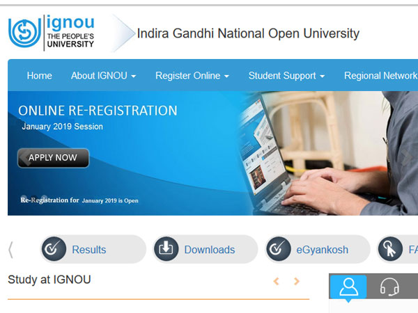 How to check IGNOU December Exam Result 2018 on this date