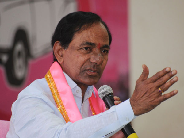 Telangana: CM Rao plays 'self-respect' card at poll rally