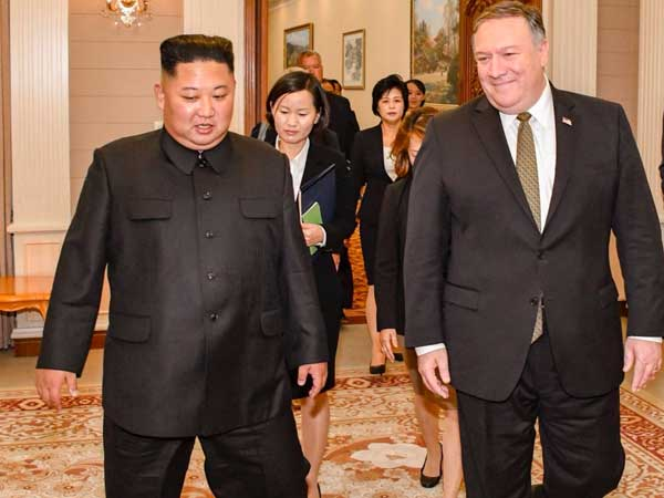 US State Secy Mike Pompeo visits N Korea, meets Kim Jong-un