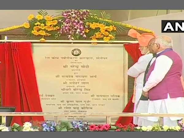 Haryana: PM unveils statue of Sir Chhotu Ram, lays foundation stone of rail coach factory