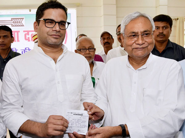 Prashant Kishor appointed National VP of JD (U)