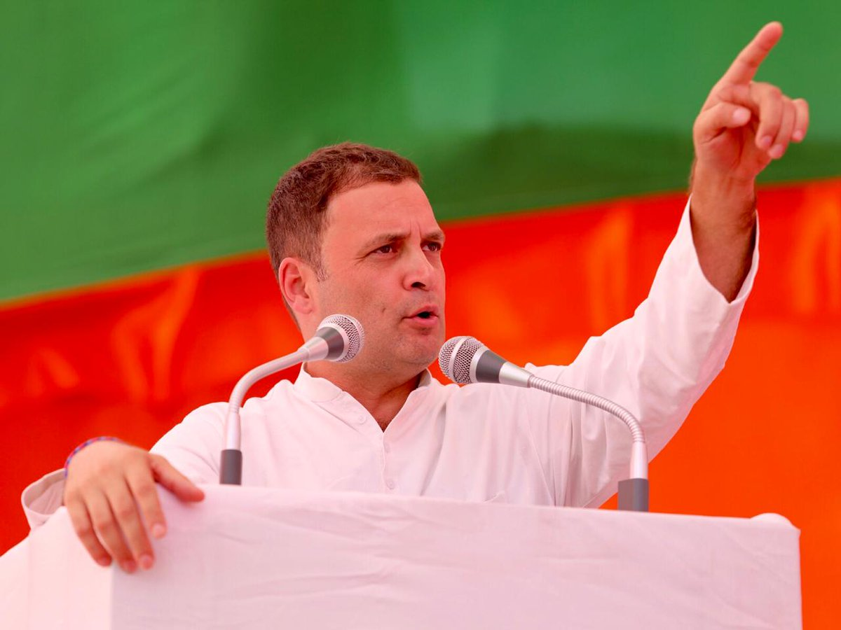 Rahul Gandhi blames GST and mass unemployment for violent attacks on migrant workers in Gujarat