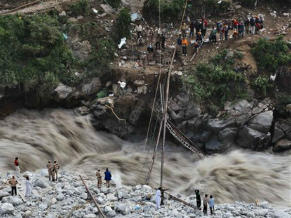 File image of Uttarakhand floods