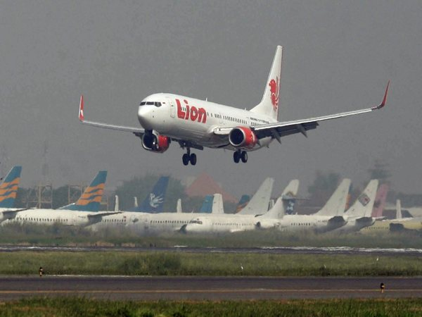 Lion air flight took off from Jakarta