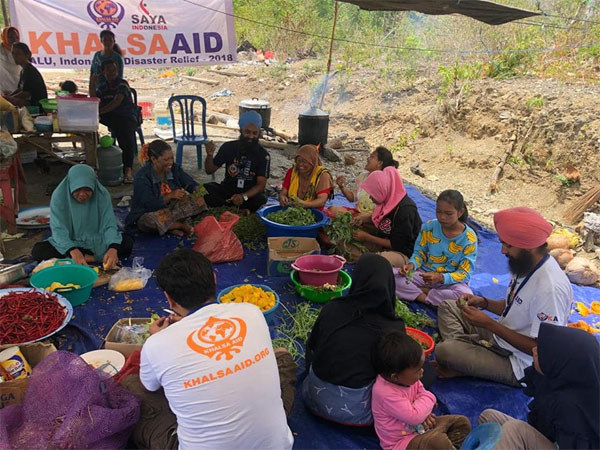 Khalsa Aid International is in Indonesia