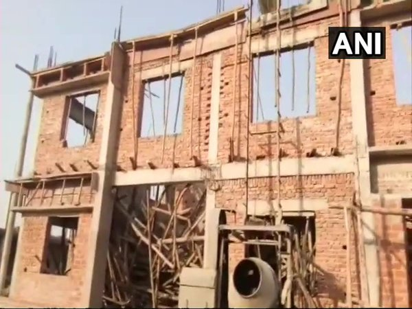 Visual from the site of collapse. (Source: Twitter/ANI)