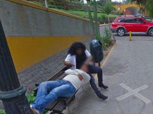 Peru man divorces wife after seeing her cuddling stranger on Google Street View