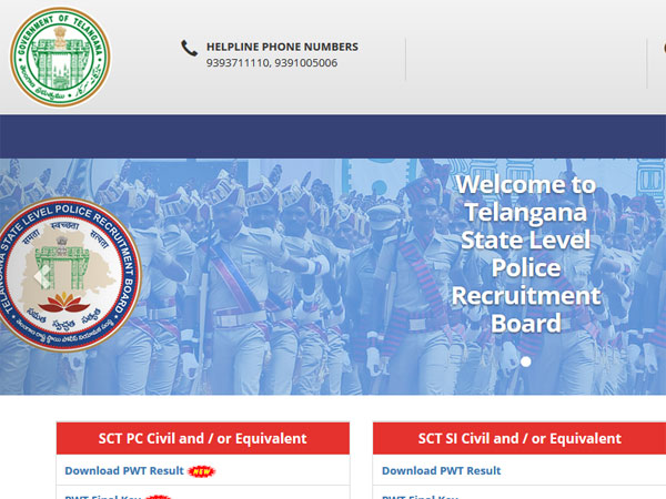How to check TS Police Constable result 2018