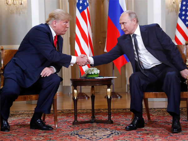 U.S. President Donald Trump, left, and Russian President Vladimir Putin