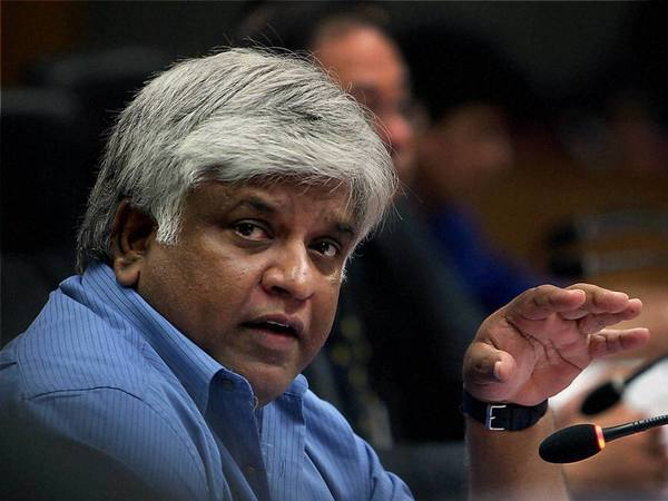 Former Minister Arjuna Ranatunga. PTI file photo