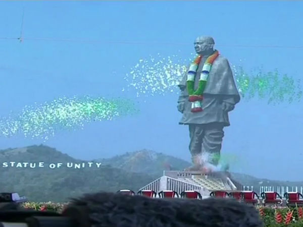 Statue of Unity inaugurated