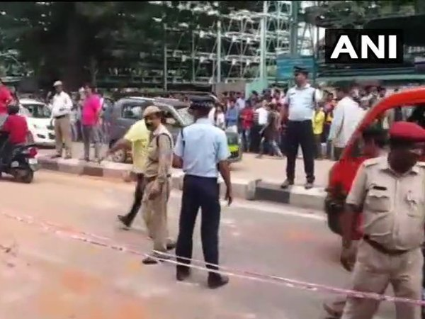 Assam: 4 injured in explosion in Guwahati. Courtesy: ANI news