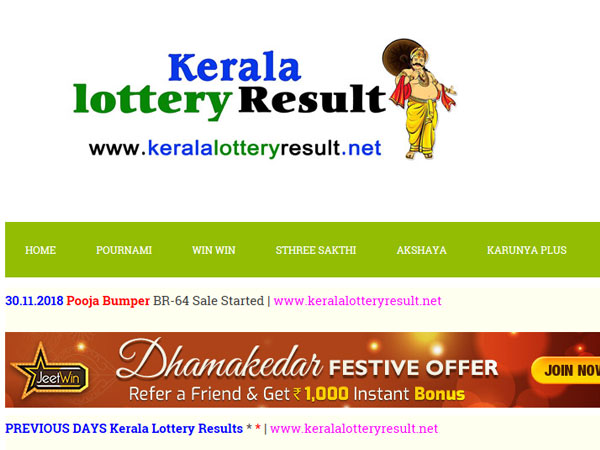 Kerala Lottery results Today: Sthree Sakthi SS-154 lottery result today, win Rs 65 lakh