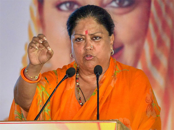 Rajasthan: Vasundhara Raje to contest from Jhalrapatan; says BJP will be in power again