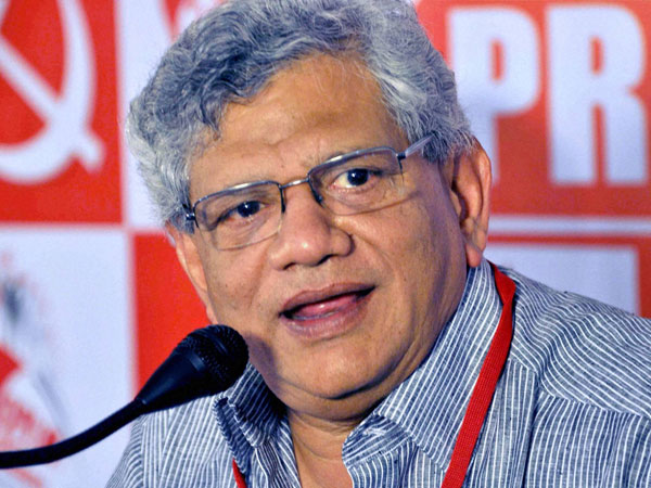 Yechury likens Sabarimala protests to Babri demolition, blames RSS for it